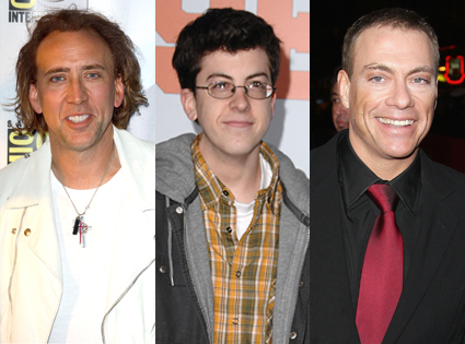 Nicolas Cage, Christopher Mintz-Plasse, Jean Claude Van Damme