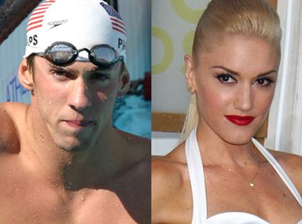 Michael Phelps, Gwen Stefani
