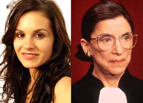 Kara DioGuardi, Ruth Bader Ginsberg