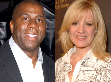 Magic Johnson, Bonnie Hunt