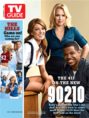 Jennie Garth, Shenae Grimes, Tristan Wilds, TV Guide
