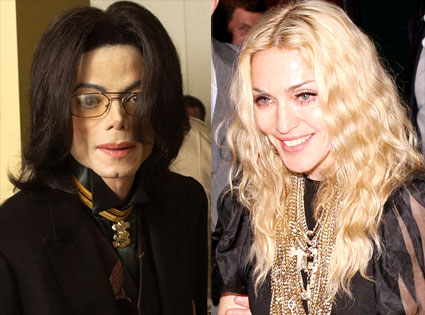 Michael Jackson, Madonna