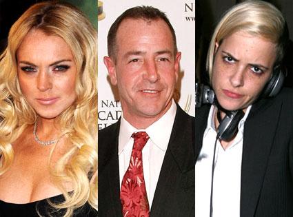 Lindsay Lohan, Michael Lohan, Samantha Ronson