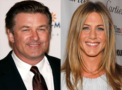 Jennifer Aniston, Alec Baldwin