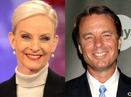 Cindy McCain, John Edwards