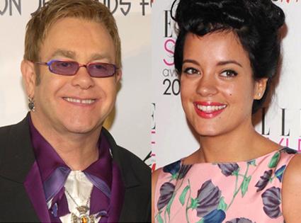 Elton John, Lily Allen