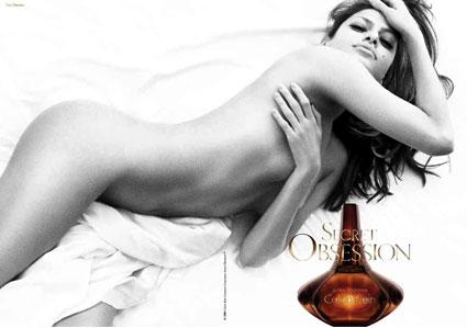 Eva Mendes, Calvin Klein Obsession Ad