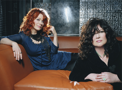Nancy and Ann Wilson of Heart