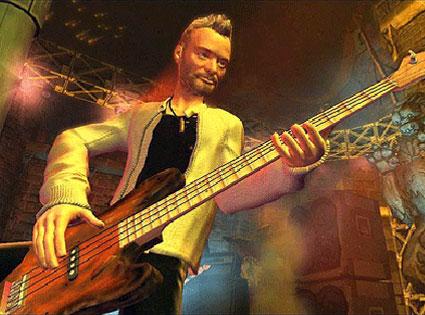 Sting, Guitar Hero