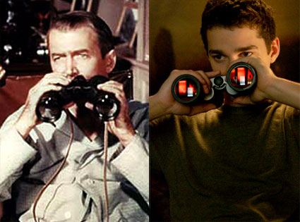 James Stewart (Rear Window), Shia LaBeouf (Disturbia)