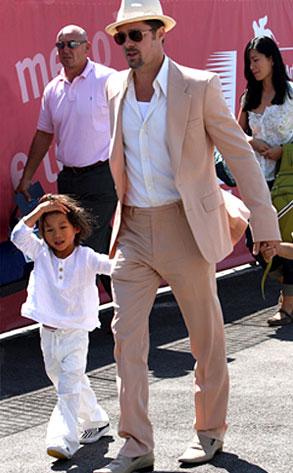 Brad Pitt, Pax Jolie- Pitt