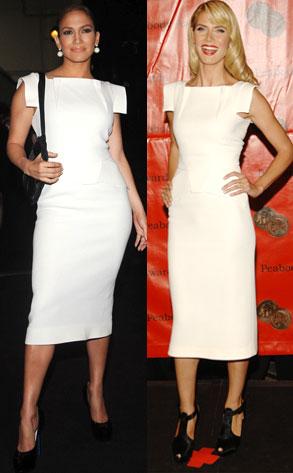 Jennifer Lopez, Heidi Klum