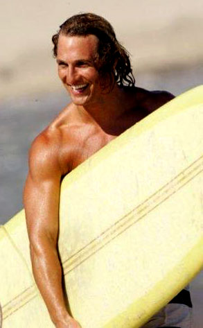 Matthew McConaughey, Surfer Dude