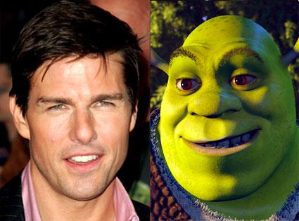 Tom Cruise, Shrek