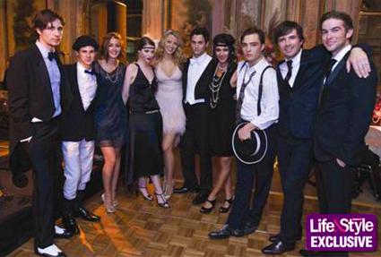 Blake Lively Birthday Gossip Girl  Cast