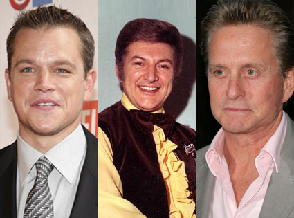Matt Damon, Liberace, Michael Douglas
