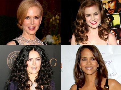 Nicole Kidman, Isla Fisher, Salma Hayek, Halle Berry