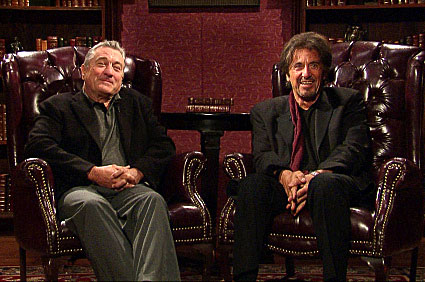 Robert DeNiro, Al Pacino