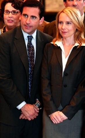 Steve Carell, Amy Ryan, The Office