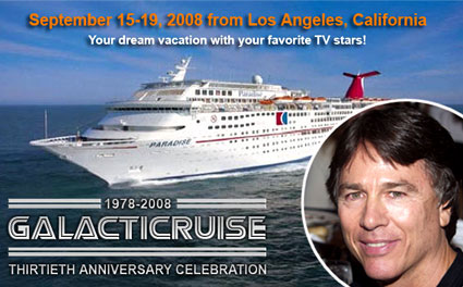 Battlestar Galactica cruise ship, Richard Hatch