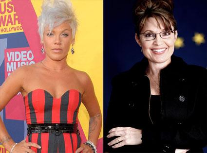 Pink, Sarah Palin