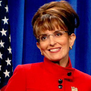 Tina Fey as Sarah Palin, SNL