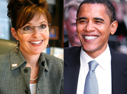 Sarah Palin, Barack Obama