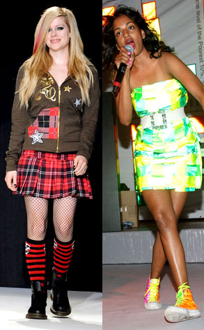 Avril Lavigne, M.I.A.