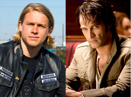 Charlie Hunnam, Sons of Anarchy, Stephen Moyer, True Blood