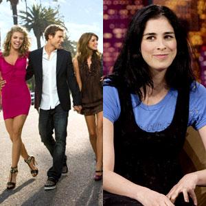 Sarah Silverman, 90210 cast
