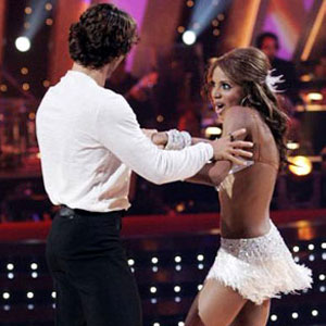 Toni Braxton, Alec Mazo, Dancing with the Stars