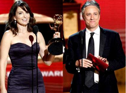 Jon Stewart, Tina Fey, Emmy Awards
