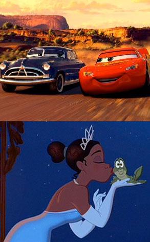 Disney's Cars & The Frog Princess