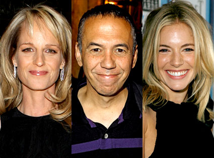 Sienna Miller, Gilbert Godfried, Helen Hunt