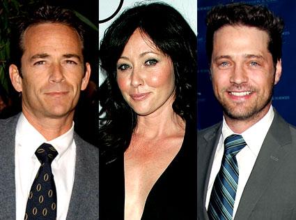 Jason Priestley, Shannen Doherty, Luke Perry