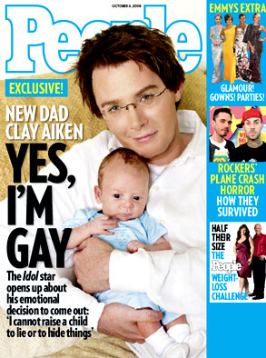 Clay Aiken, People cover
