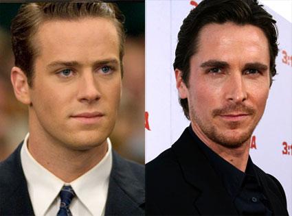 Armie Hammer, Christian Bale