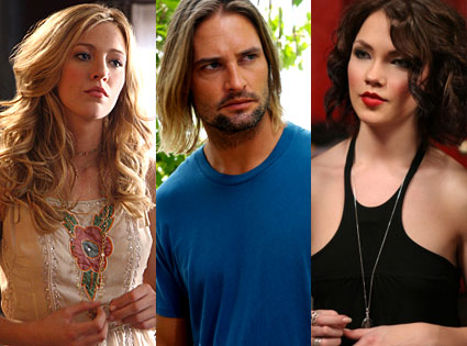 Blake Lively (Gossip Girl), Josh Holloway (Lost), Elina (America's Next Top Model)