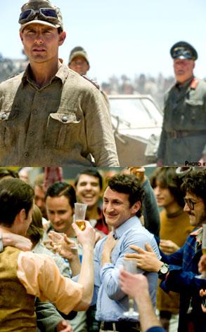 Sean Penn, Milk, Tom Cruise, Valkyrie