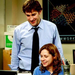The Office, Jenna Fischer, John Krasinski
