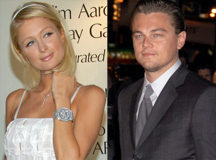 Paris Hilton, Leonardo DiCaprio