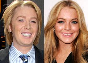 Clay Aiken, Lindsay Lohan