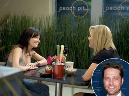 Jason Priestley, 90210 scene