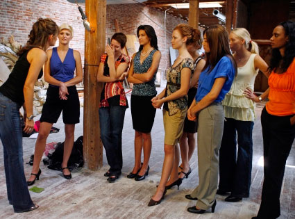 America's Next Top Model, ANTM, Paulina Porizkova, Samantha, Marjorie, Clark, Elina, Sheena, Lauren Brie, Joslyn