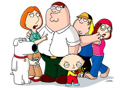 Family Guy cast portrait