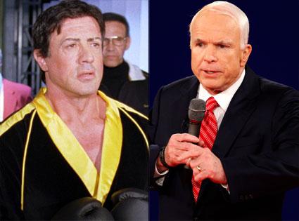 Rocky Balboa, John McCain
