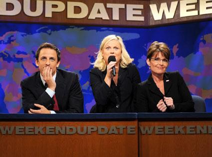 Sarah Palin, Amy Poehler, Seth Meyers, Saturday Night Live