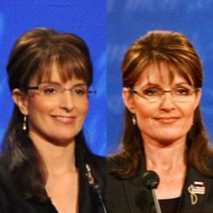 Tina Fey, Sarah Palin