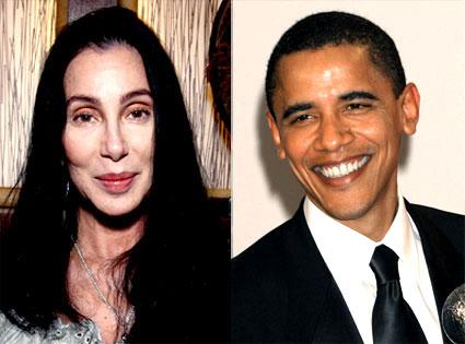 Cher, Barack Obama