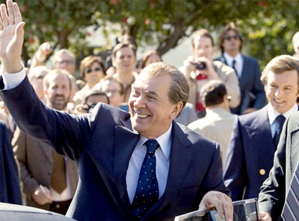 Frost/Nixon, Frank Langella, Michael Sheen